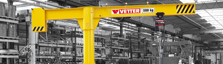 Lash+Lift Krantechnik - Mobiler Säulenschwenkkran