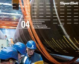 "Titelbild des SpanSet Katalogs ""Safety Management"""