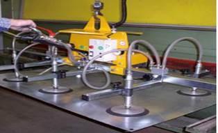 Elektromos vákuumos emelő vízszintes szállítás
